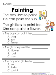 free printable reading materials for grade 1 ...