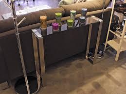 narrow sofa table. Gem Narrow Glass Console Table · Collection Sofa
