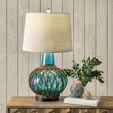 use table glass lamps to create high