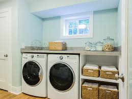 storage tips for basement laundry rooms