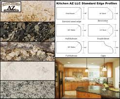 Granite Kitchen And Bath Custom Granite Kitchen Countertops And Edge Profiles In Phoenix