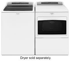 whirlpool 4 8 cu ft 27 cycle top loading washer white wtw7500gw best