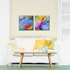 shop for ready2hangart tropical birds of paradise canvas wall art set of 2 ships to canada at overstock ca your online art gallery destinati  on tropical wall art sets with shop for ready2hangart tropical birds of paradise canvas wall art