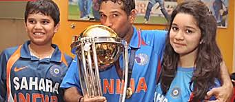 Image result for sachin with children