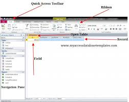 What Is Microsoft Access Components Of Ms Access Database Window Evernote First
