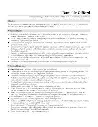 Sample Resume Entry Level Pharmaceutical Sales Medical Objective