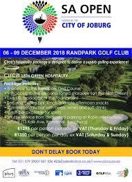 SA Open 18th Green VIP Hospitality... - Randpark Golf Club | Facebook