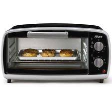 toaster oven tray oster tssttvvg01 4 slice toaster oven kitchen countertop tray pan black new