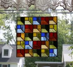 117 best STAINED GLASS QUILTS images on Pinterest | Glass, Carpets ... & Stained Glass Panel Attic Window Quilt Block Adamdwight.com