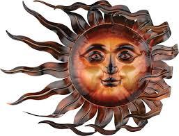 amazing idea sun wall art home design ideas wind decor statuary only 89 95 at garden on garden metal sun wall art with sun wall art alcove fo