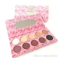 10 colors cat s pajamas makeup eyeshadow palettes matte eye shadow maquiagem easy to wea cosmetics kit