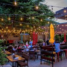 The large sidewalk space has oversized benches and sits on a quiet street and square. Boston S Best Outdoor Dining 65 Amazing Patios Roof Decks And More