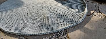 our round rugs are some of the most popular pieces in our catness design 2016 16 collection we make our rugs from 100 cotton in earth tones