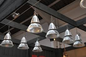 set of 20 french vintage holophane pendant lights sold
