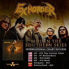 Exhorder Infiltrates Worldwide Charts Nuclear Blast