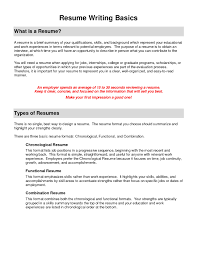 Purpose Of A Resume Functional Resume Nicetobeatyoutk 95
