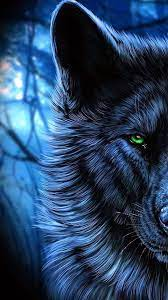 Black Wolves With Blue Eyes Wallpapers ...