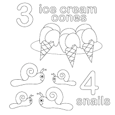 Number Coloring Pages 1 10 Polariclub