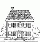 Раскраска картин дома