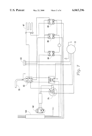 patent us6065296 single package vertical air conditioning system patent drawing