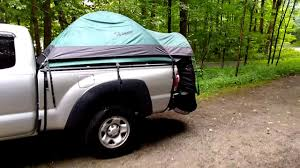 Guide Gear Compact Truck Tent Rainstorm Review - FINE! - YouTube