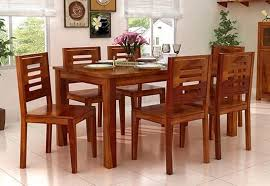 Small Picture 6 Seater Dining Table Online Six Seater Dining Table Set India
