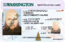 Id State Wa Official Site Designs Licensing dol Card