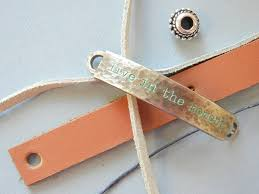 tutorial how to make a leather bracelet with drawstring clasp a step by