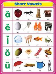 Amazon Com Carson Dellosa Short Vowels Chart 114063