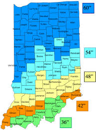 Indiana Frost Depth Chart Indiana Frost Line Hammerpedia