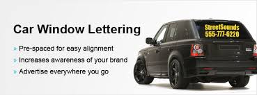 car letter decals car window lettering vinyl lettering at speedysigns com