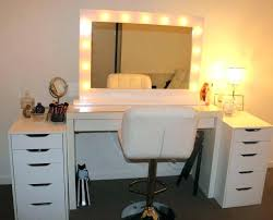 diy makeup vanity table. Makeup Vanity Ideas Diy Desk Table With Lights .