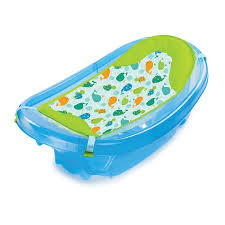 summer infant sparkle and splash tub blue