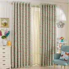 Us 531 55 Offnapearl Kurze Fenster Vorhänge Für Schlafzimmer Behandlung Gardinen Floral Design Rustikalen Blackout Vorhänge Tüll Vorhänge