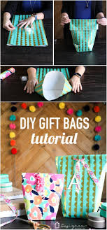 makea how to make a gift bag from wrapping paper designertrapped com