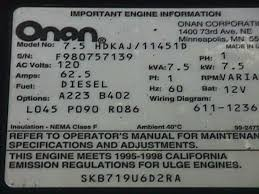 onan engine replacement parts for ppl motor homes onan engine replacement parts and manuals