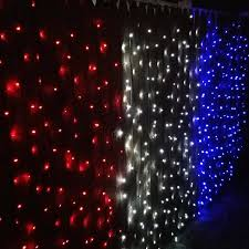 Red White Blue Solar Lights Sunnydaze Led Patrioticsolar Powered String Lights Outdoor