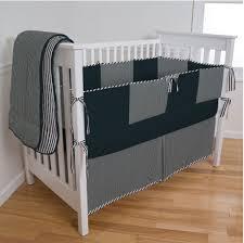 black and white checked custom crib bedding