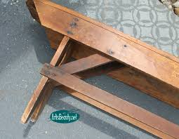 Diy Bench Remodelaholic How To Build A Primitive Farmhouse Bench