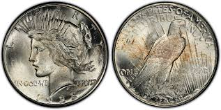 1923 S 1 Regular Strike Peace Dollar Pcgs Coinfacts