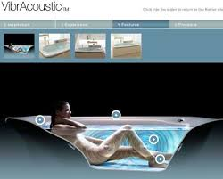 kohler has just introduced the vibracoustic a bathtub that is probably more advanced than the computer youre reading this on the vibracoustic delivers a bathtub lighting