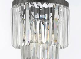 g gallery chandeliers retro odeon crystal glass fringe