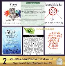 Zakat Chart Preramadanproductivitycourse Free Subscriber Bundle 2