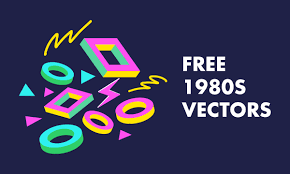 80s Pattern Awesome 48 Free 48s Vectors Patterns Electronics And People Hipsthetic