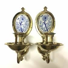 made in india set of 2 wall sconce