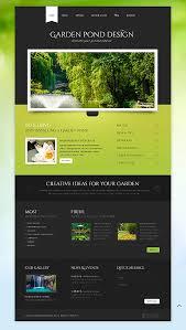 Website Templates Garden Design Templates Custom Website Template Simple Garden Web Design Design