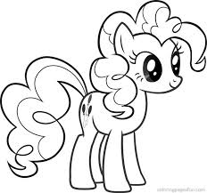 pinkie pie coloring page lovely my little pony pinkie pie coloring
