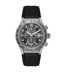 tag heuer carrera calibre heuer 01 automatic chronograph 45 mm tag heuer carrera calibre heuer 01 100 m 43 mm car208z ft6046 tag heuer