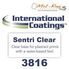 International Coatings Ink Color Chart 3816 Sentri Clear Base