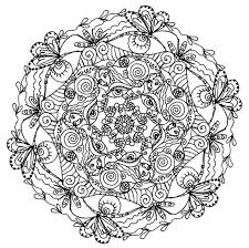 Free Printable Mandala Coloring Pages For
